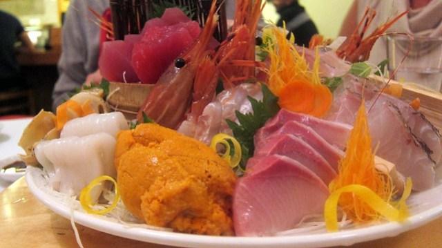 sashimi omakase at sushi house hayakawa