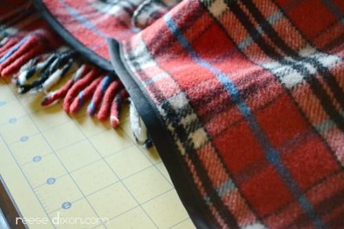 Blanket Cape Tutorial Step 4