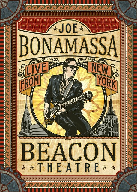Joe Bonamassa - Beacon Theatre - Live From New York (cover)