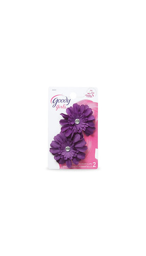 Girls Flower Contour Clip