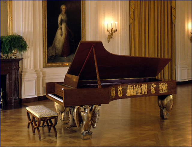 Using the White House Steinway Concert Grand Piano
