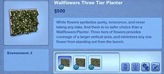 Wallflowers Three Tier Planter