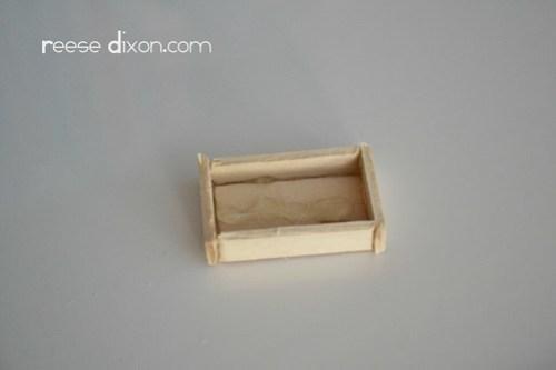 Manger Diorama Tutorial Step 3