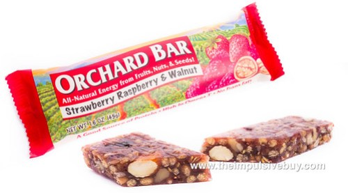 Liberty Orchards Orchard Bars Strawberry Raspberry & Walnut