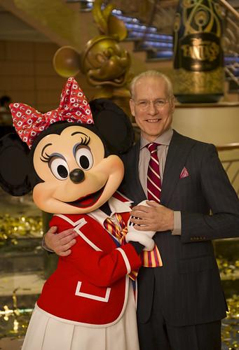 Tim Gunn, Minnie Mouse