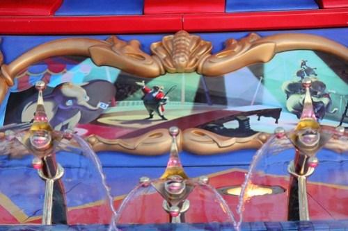 Dumbo story panel - Storybook Circus