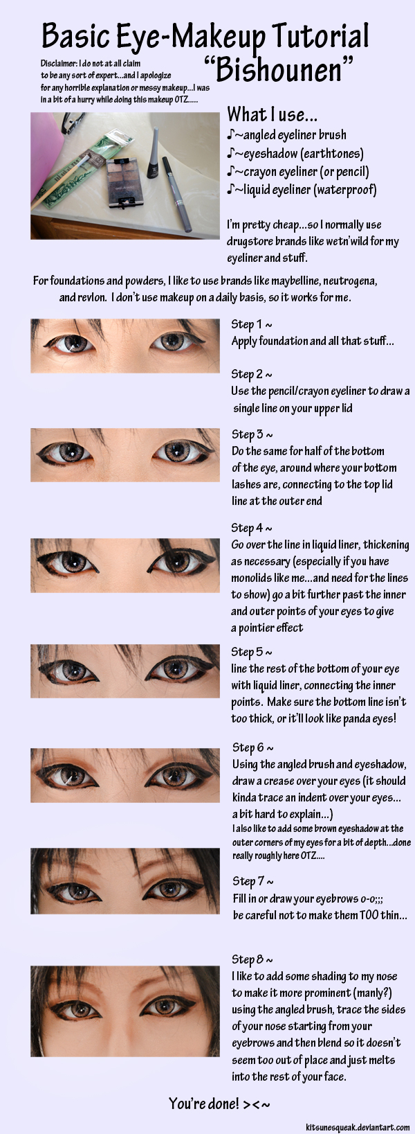 Eye Make-Up Tutorial for a More Vivid Cosplay Look