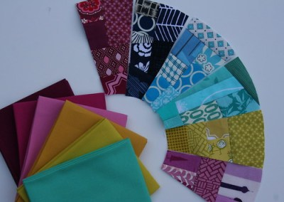 Fab Little Quilt Swap with Solids
