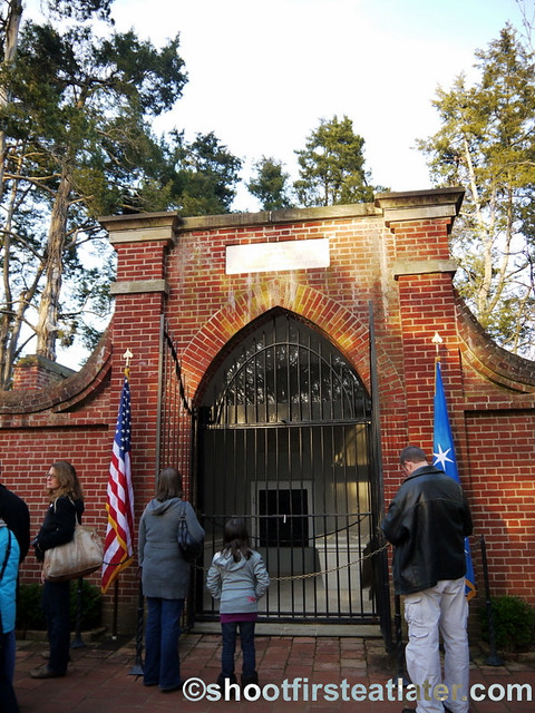 Mount Vernon- Washington's tomb