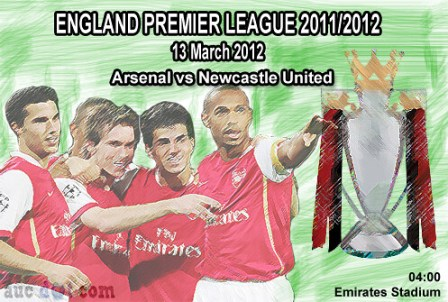 6975704181 f27a9ca0b3 Arsenal vs Newcastle United | EPL 2011 / 2012 | Live and Results