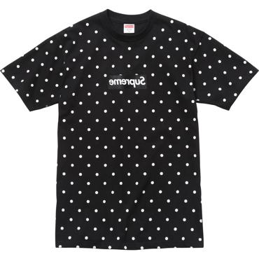 Supreme x Comme des Garcons Black T-shirt