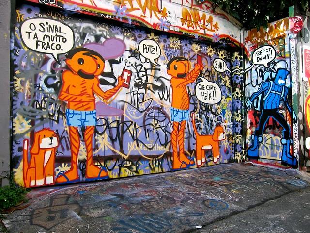 Tito na Rua mural at Clarion Alley, SF