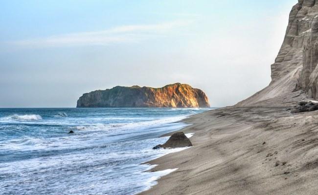 My Lonely Island - Niijima Coast at Sundown