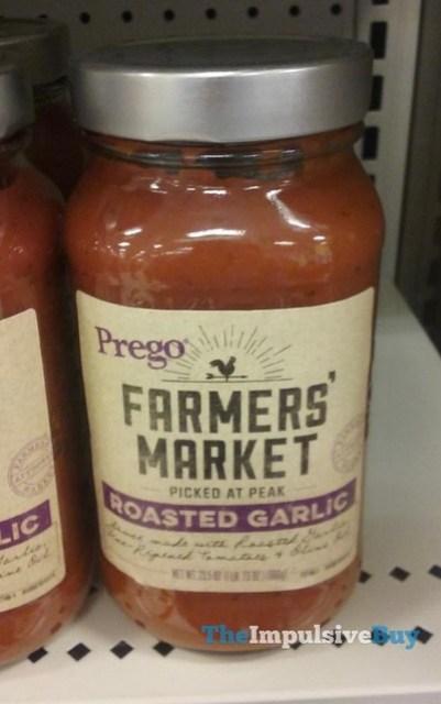Prego Farmers' Market Roasted Garlic Sauce