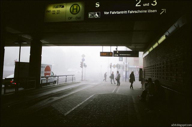 Foggy morning Offenbach
