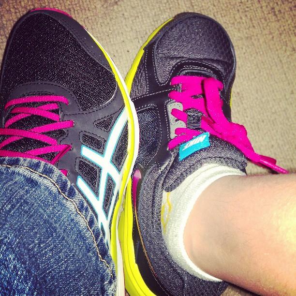 New shoes #accidentalmatch #asics #nike #shopping #shoes