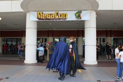 MegaCon 2012 entrance