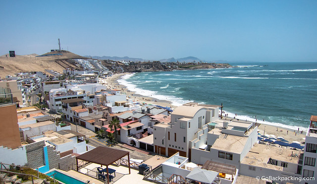 Playa Blanca at Punta Hermosa, south of Lima