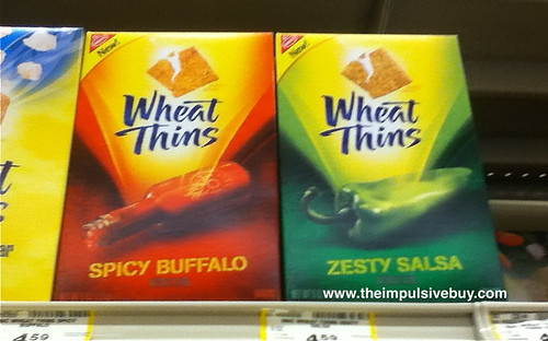 New Wheat Thins on shelf