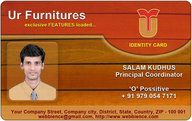 Free ID Card Templates ID Card Template Set 002 - free id badge templates