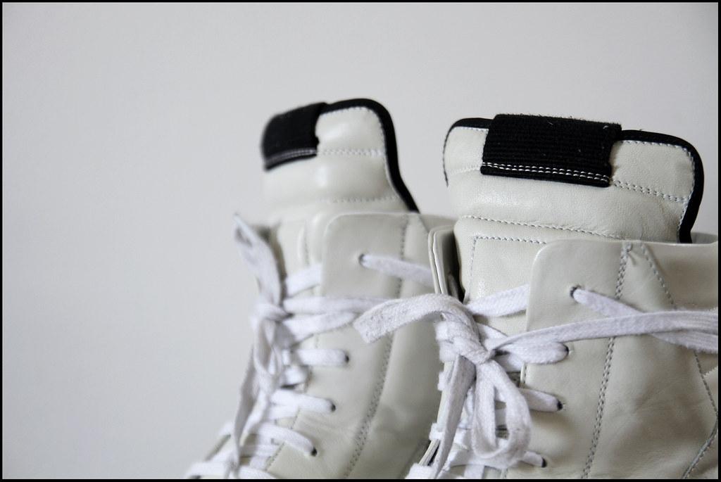 Tuukka13 - Sneak Preview - My New Rick Owens High Top Sneakers in White - 5