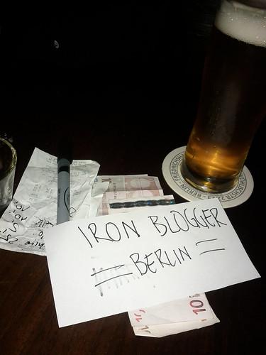 Iron Blogger Berlin