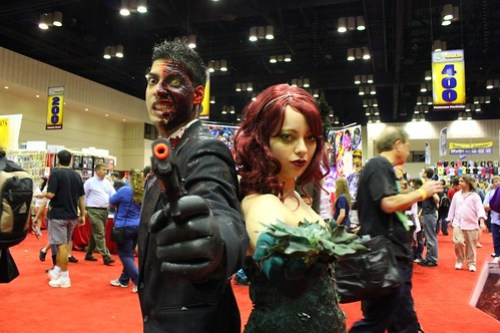 Two-Face and Poison Ivy - MegaCon 2012