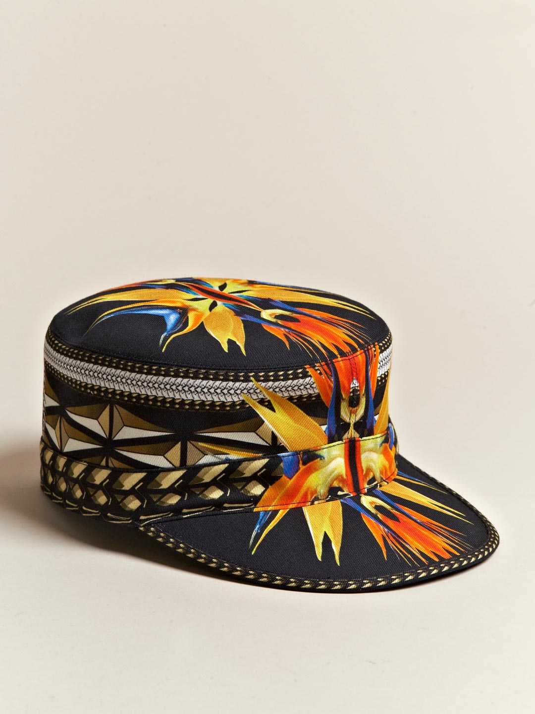 Givenchy SS 12 Womens Printed Hat