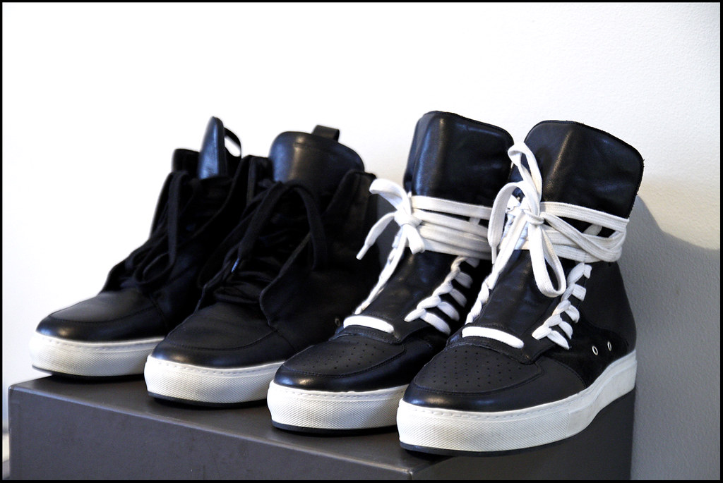 Tuukka13 - Sneak(er) Preview - My New Kris Van Assche High Top Sneakers x2 - Surgery and Hidden Laces - 1