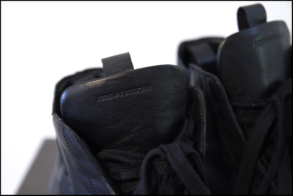 Tuukka13 - Sneak(er) Preview - My New Kris Van Assche High Top Sneakers x2 - Surgery and Hidden Laces - 5