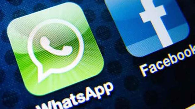 whatsapp facebook closeup