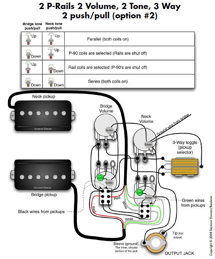 For Seymour Duncan Tele Pickup Wiring Diagrams