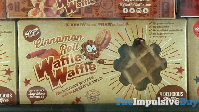 Cinnamon Roll WaffleWaffle