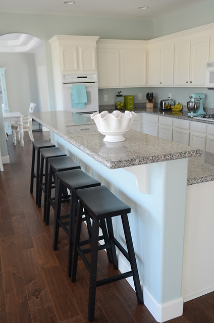 How To Build A Kitchen Island Using Wall Cabinets Simplify: The House-house