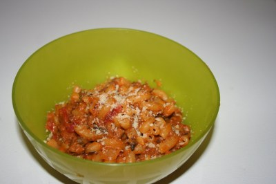 Meatless Monday: Vegetarian Hamburger Helper