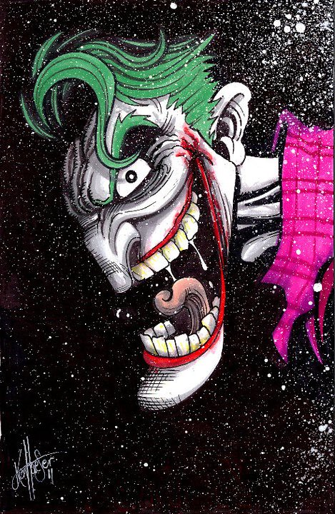  Desenhos Nerds  OS Viles de Batman - Coringa