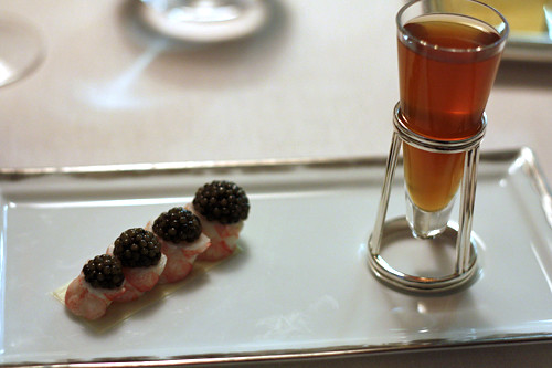 langoustinesi and caviar