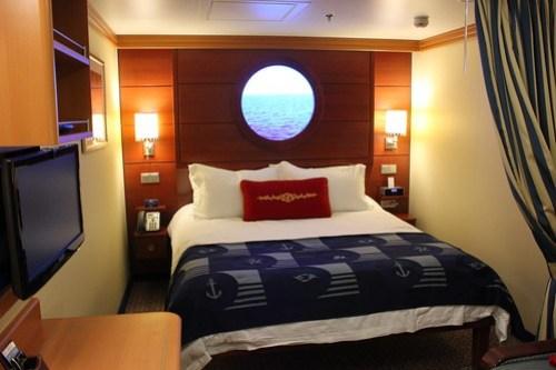 Interior Stateroom with Magical Porthole - Disney Fantasy