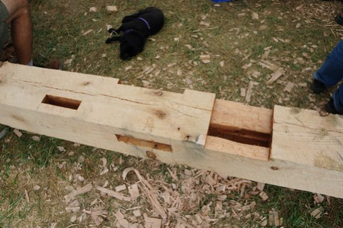 Timber Frame Mortise Joint