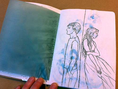 A visit to the 2012 Sketchbook Project show in Vancouver