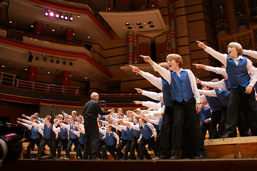 Warkikshire Boys Choir - Symphony hall Birmingham