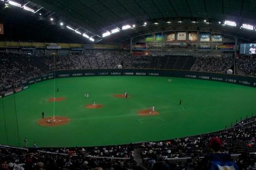 プロ野球のオリックスの試合