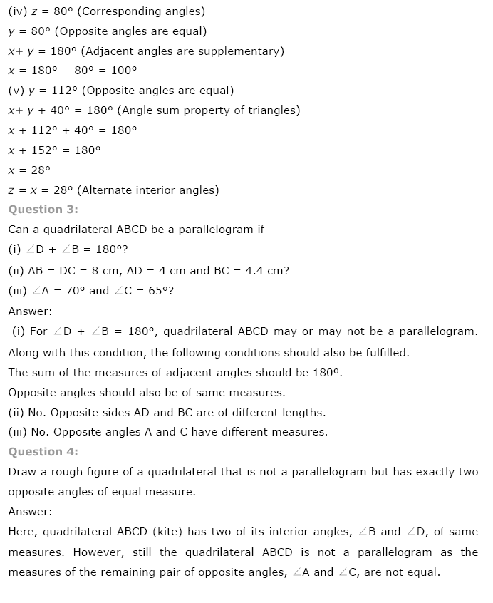 NCERT Maths Class 8 Solutions