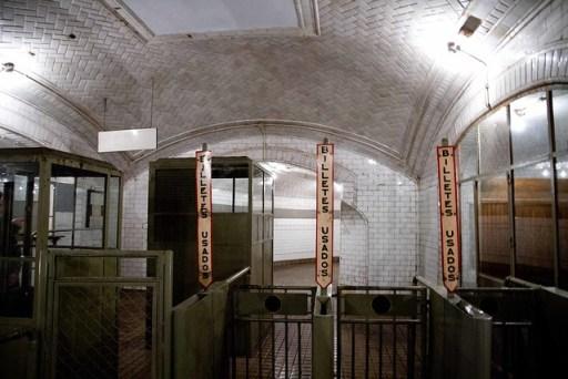 Anden 0 Metro de Madrid