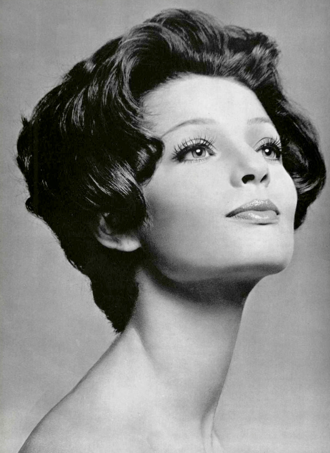 Coiffure 1960 Model 39s Coiffure By Antoine Photo By Pottier 1960