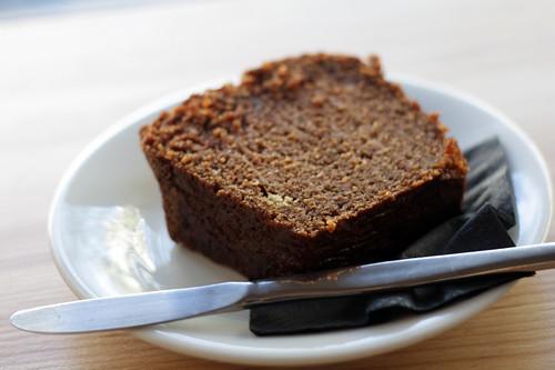 carrot cake at Kooka Boora