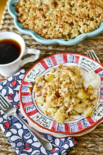 Apple & Pear Breakfast Crisp 5