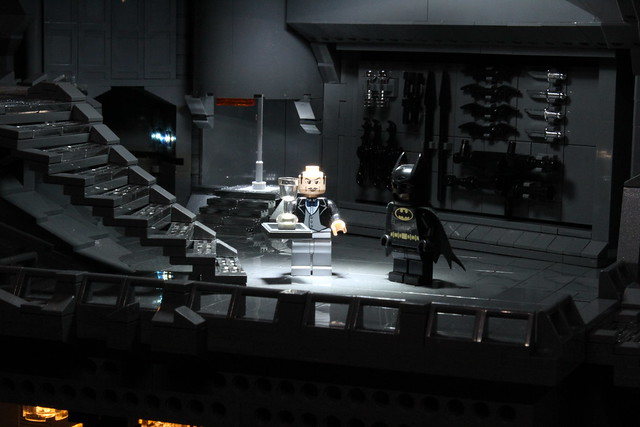 8075002720 4968fe0278 z The Bat Cave Built From 20,000 Lego Parts