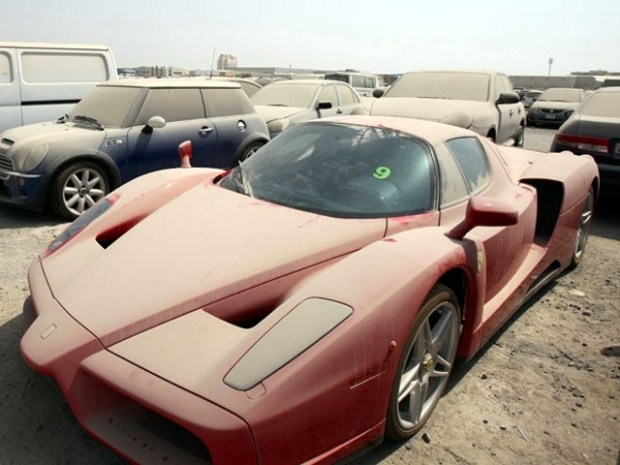 Would you pay $30,000 to keep this Ferrari Enzo?