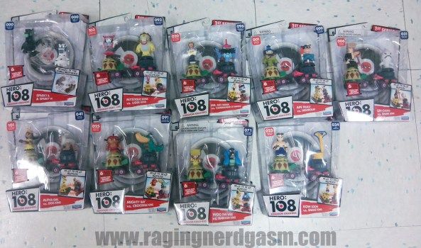 Cartoon Networks Hero 108 Figures
